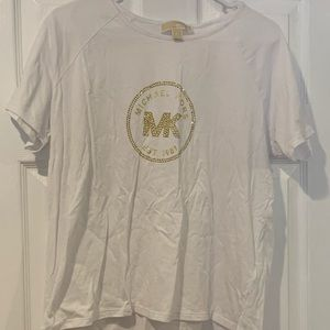 Michael Kors Gold Logo T-Shirt